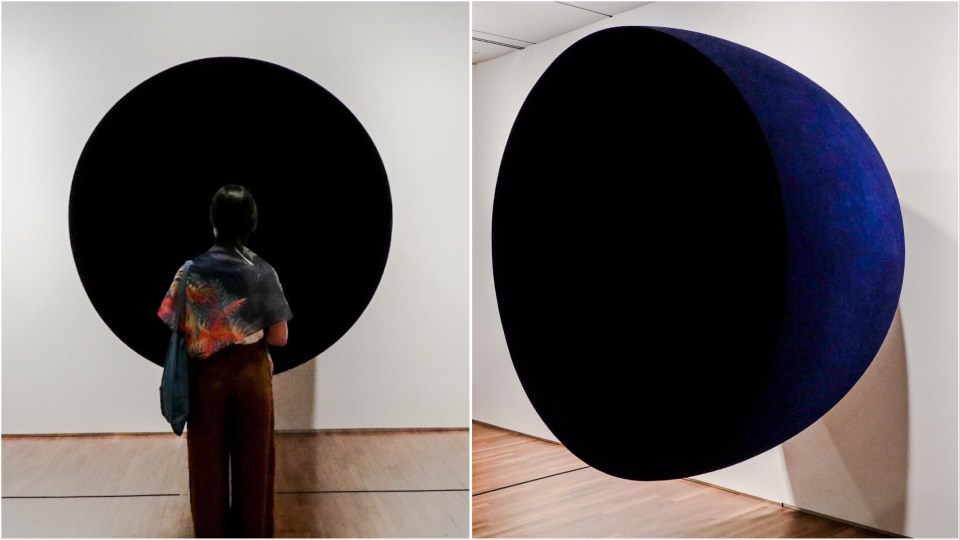 Void by Anish Kapoor at the National Gallery Singapore.