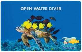 Open Water Cerification Card