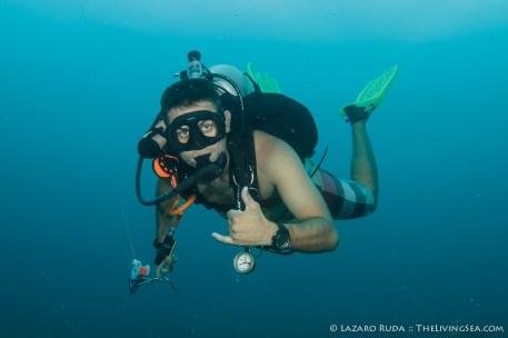 Dive Guide Colin