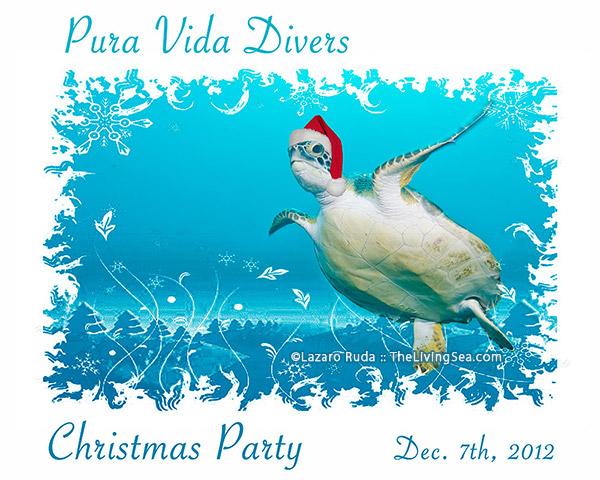 Pura Vida Christmas Party