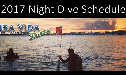 2017 GUIDED NIGHT DIVE SCHEDULE AT BLUE HERON BRIDGE
