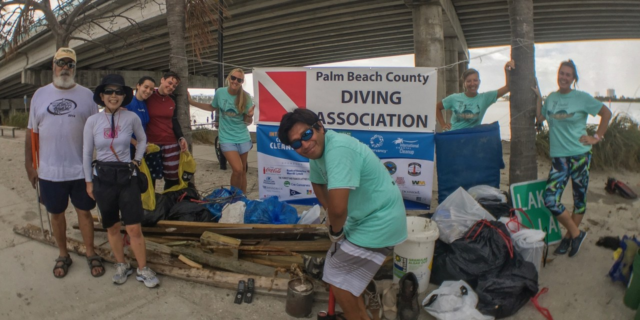 Cleanup Removes 500 lbs of Debris from Blue Heron Bridge