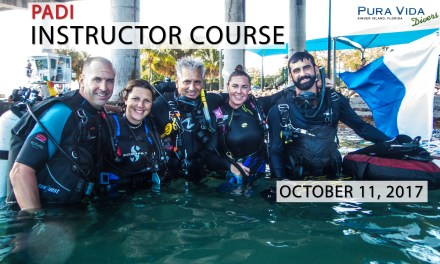 OCT 11: OPEN WATER INSTRUCTOR (OWSI) COURSE