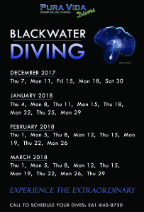 2018 Blackwater Dates