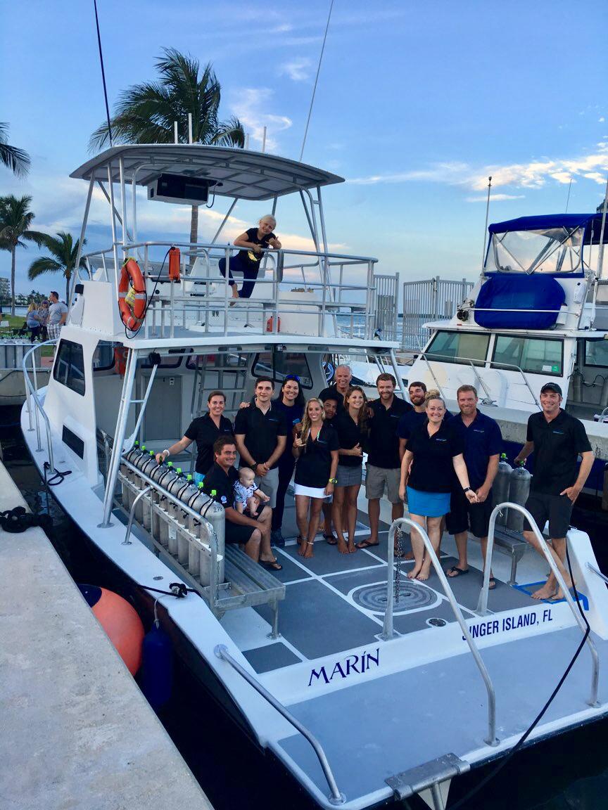 Pura Vida Divers staff Marin 2