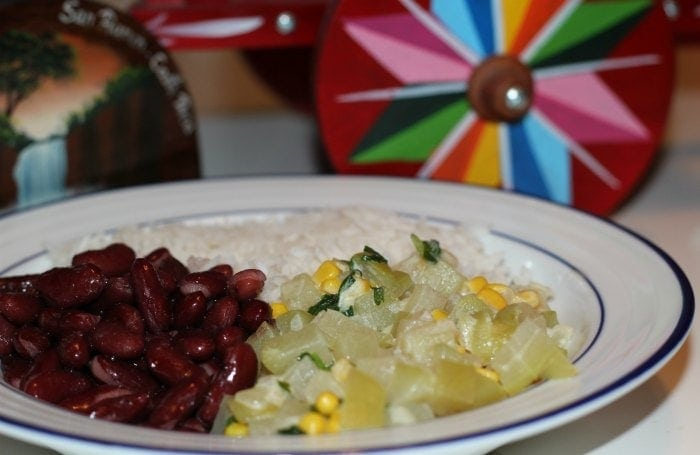Rice and beans are great first foods too!