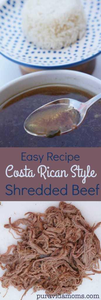 Costa rican style shredded beef recipe pura vida moms forumfinder Gallery
