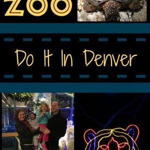 Zoo Lights 2016 at Denver Zoo