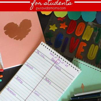 DIY Homework Tracker