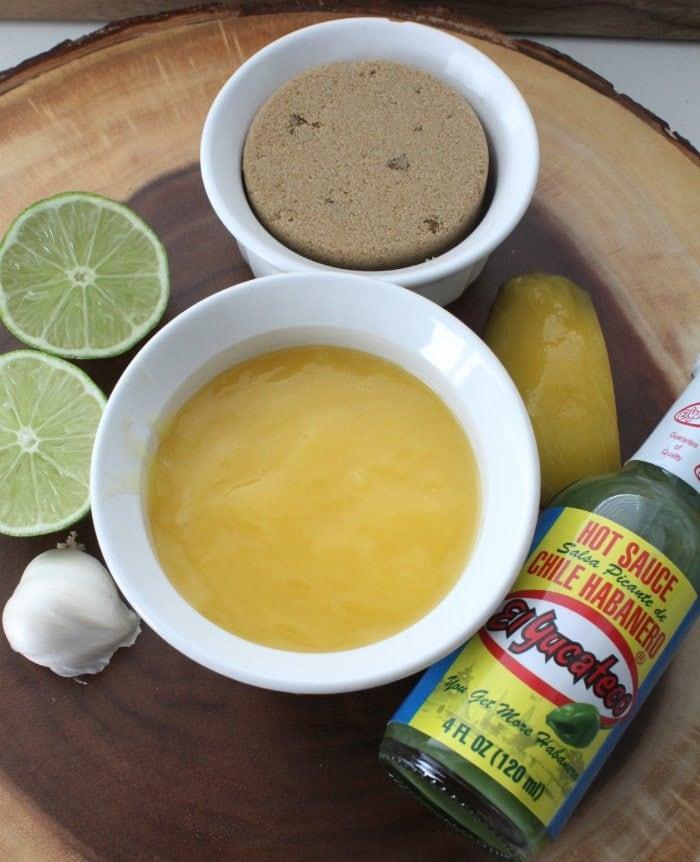 Mango Habanero Chicken Wings Ingredients