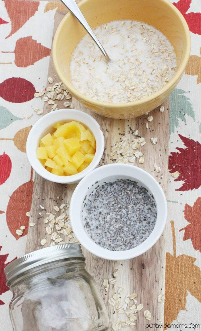 Overnight Oats Ingredients
