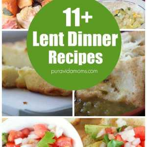 11 Lent Dinner Recipes