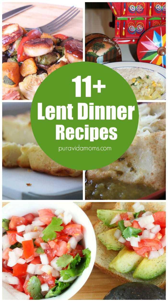 11 Lent Dinner Recipes