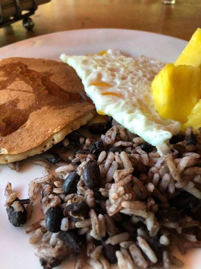 Rancho Margot Costa Rica Breakfast