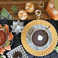 Easy Costa Rican Black Bean Dip Recipe