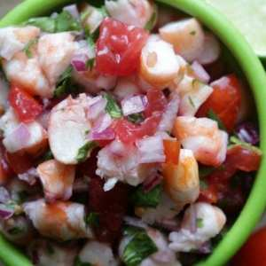 Costa Rican Shrimp Ceviche Recipe