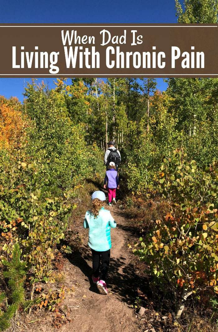 Chronic pain doesn't just affect the suffer- when it goes on too long, it can affect the whole family. Here's how chronic pain is affecting our family, and what we are going to try to make it better.