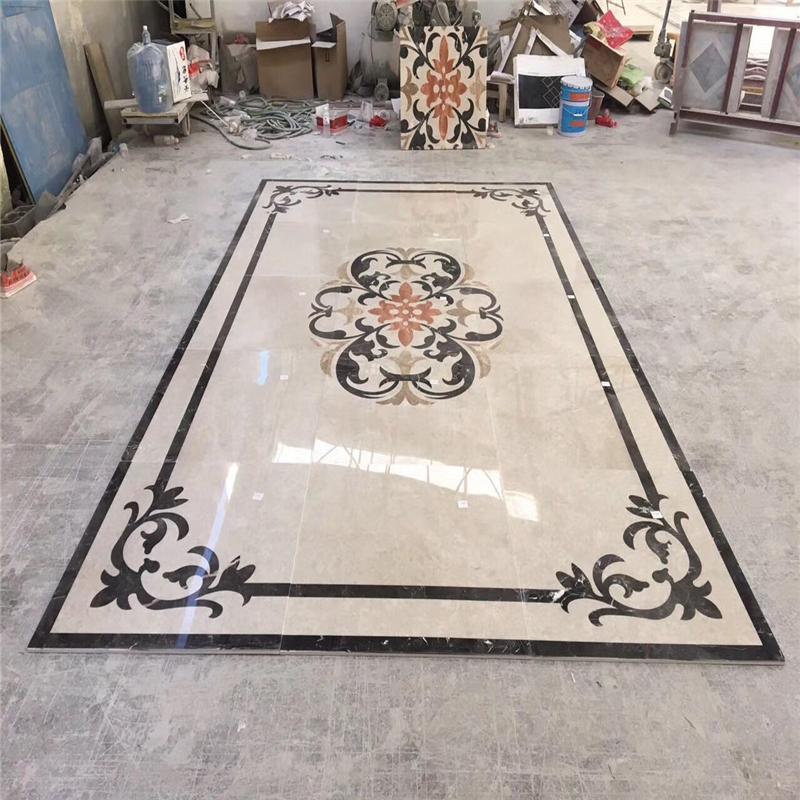 floor medallion marble mosaics