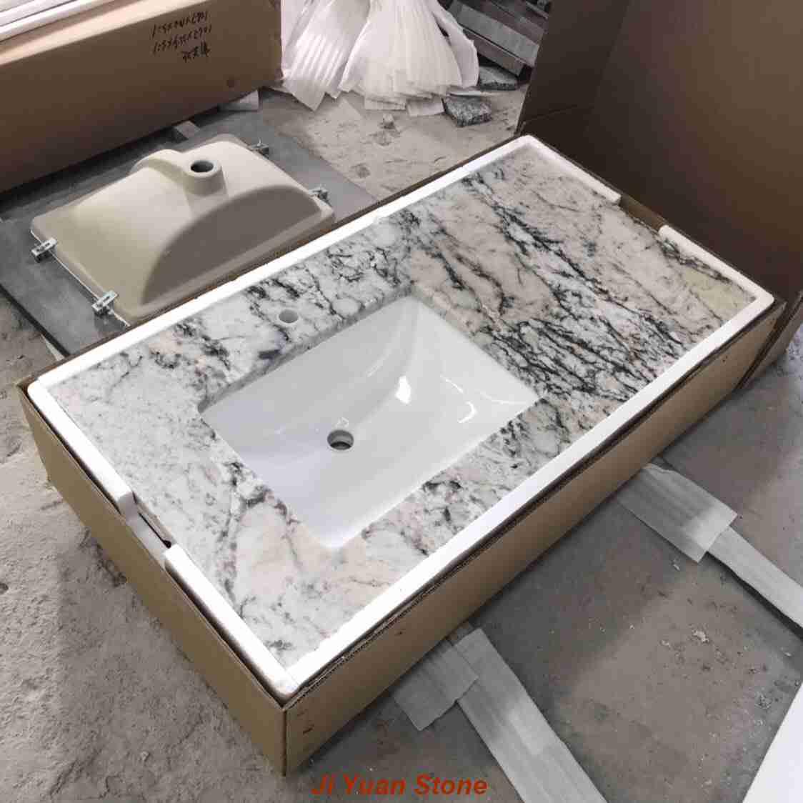 integrated sink 31 inch bathroom vanity