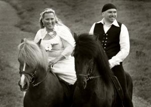 Elias Thorhallsson & Berglind Inga Arnadottir