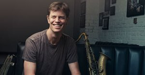 Close up of saxophonist Donny McCaslin