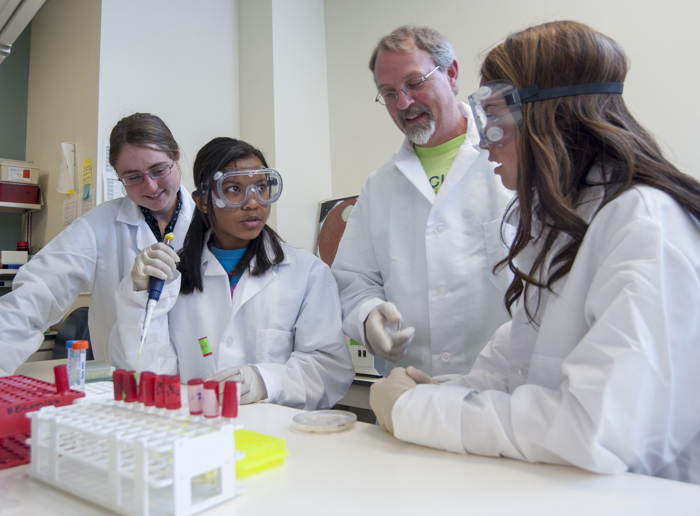 Purdue Workshop Prepares High School Teachers Students