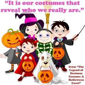 Halloween Book quote from a Halloween Carol
