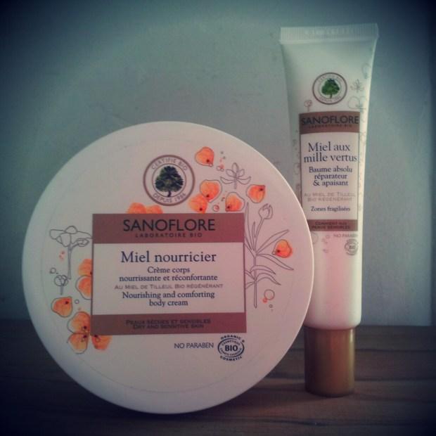 La Crème pour le corps et le Baume Absolu et Réparateur Miel Nourricier