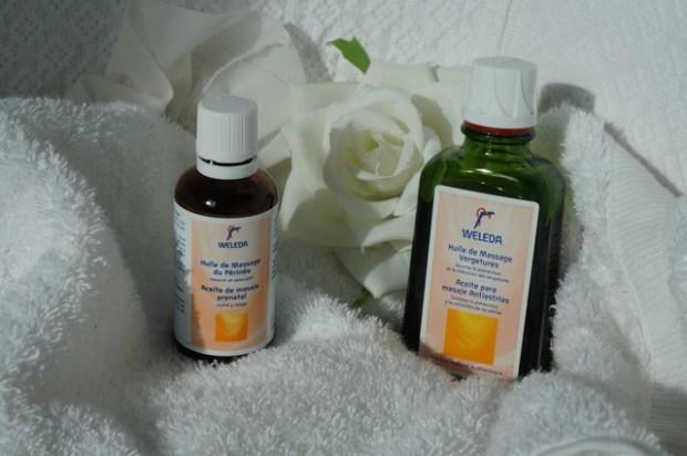 weleda huiles de grossesse