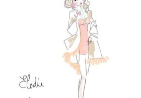 [Les dimanches de Pure-Beauté]#7 : Marie-Antoinette moderne en Wacoal x Eudoxie