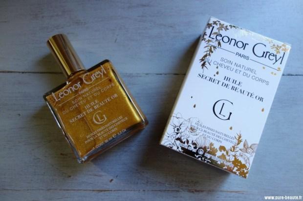 leonor greyl huile secret de beauté or