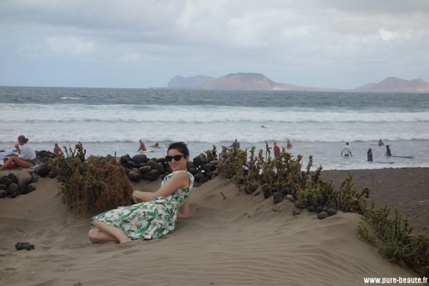 Caleta de famara - spot de surfeurs