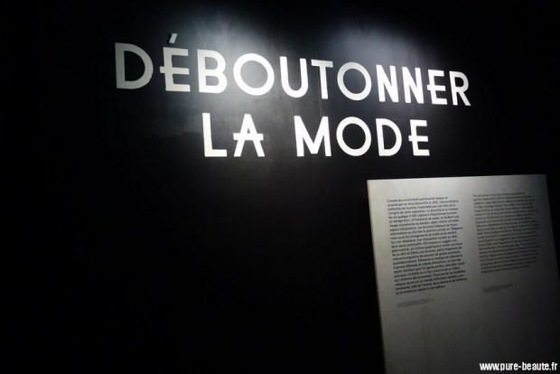 expo Deboutonner la mode aux Arts Déco