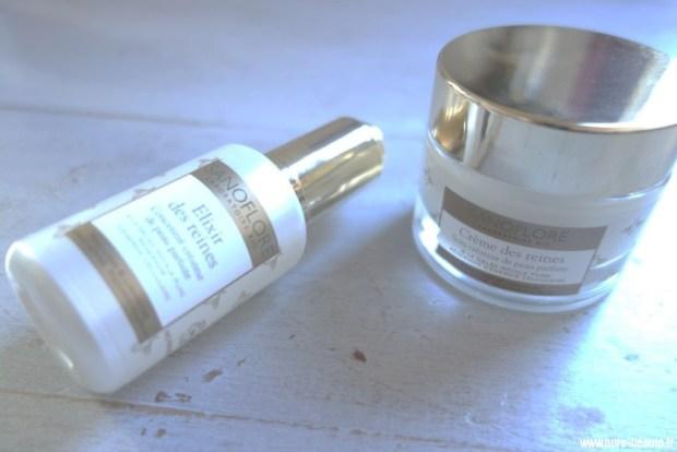 sanoflore elixir et crème des reines