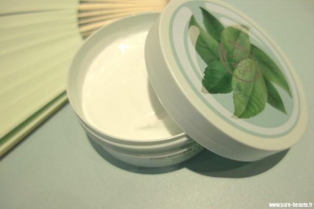 beurre corporel fuji green tea the body shop