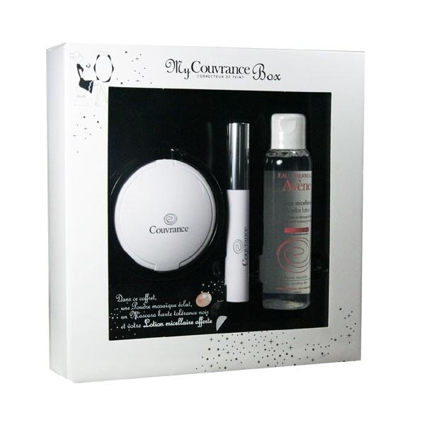avene-my-couvrance-box-poudre-mosaïque-eclat-mascara-noir-lotion-micellaire-100-ml