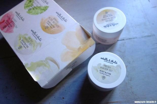 beurres pour le corps esthelle&thild