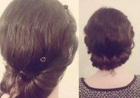 [Tuto coiffure] Chignon torsade et bohème – facile