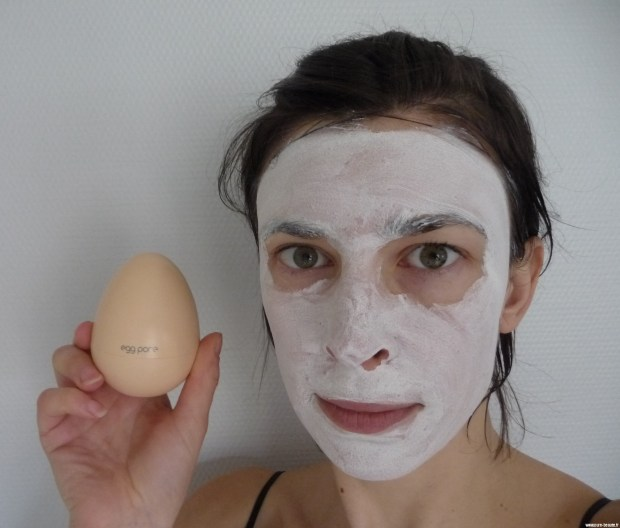 Test Tony Moly Egg Pore Tightening Cooling Pack