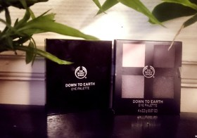 Down to earth les palettes regard the Body Shop