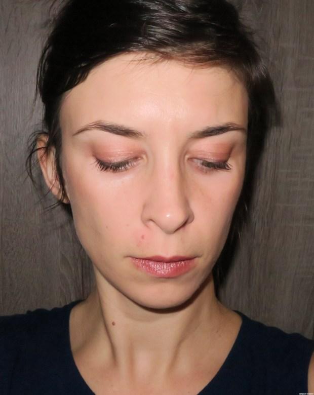 Application du Beige iris