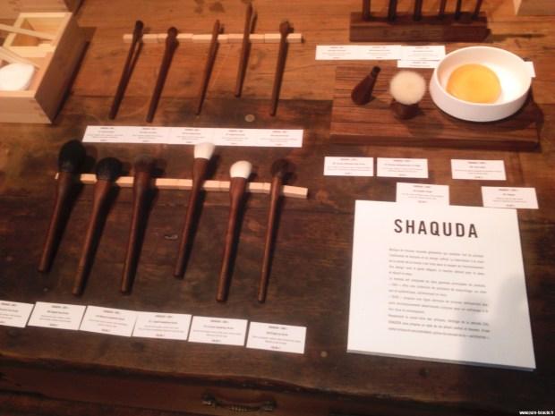Shaquda - Pinceaux et brosses en noyer