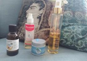 Mes huiles anti-vergetures naturelles pendant la grossesse (mais pas que !)