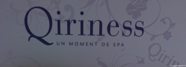 Qiriness : Un moment de Spa