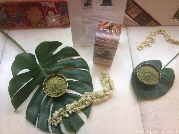 aroma-zone coloration végétale