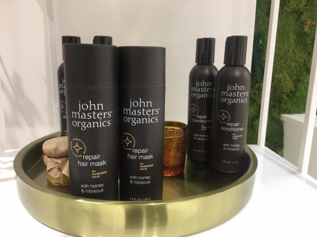gamme soins cheveux miel et hibiscus de John Masters Organics