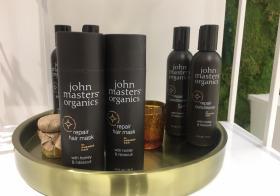 La gamme Miel et Hibiscus de John Masters Organics : ma routine pour des cheveux soyeux