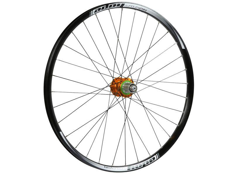Hope Tech Enduro Pro 4 Rear Wheel Orange 27,5'' 2019