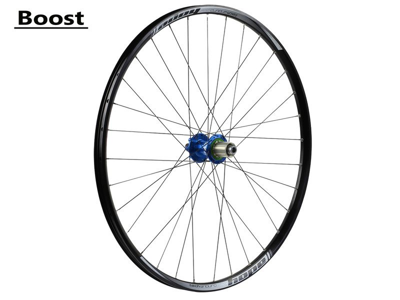 Hope Tech Enduro Pro 4 Rear Wheel Blue 29'' Boost 2019