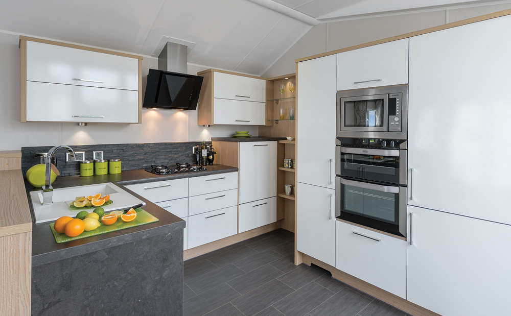 kitchen table with leaf fifth wheel campers bunkhouse and outdoor willerby linear holiday home at billing aquadrome   pure ...